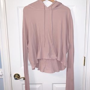 Brandy Melville Hooded Longsleeve